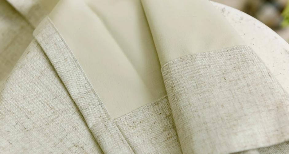 アクリル樹脂コーティング遮光カーテン