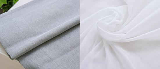 高性能裏地付き完全遮光防炎カーテン