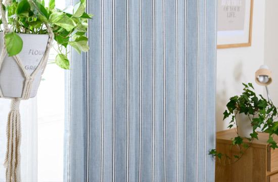 ヘリンボーン織りがおしゃれな完全遮光カーテン